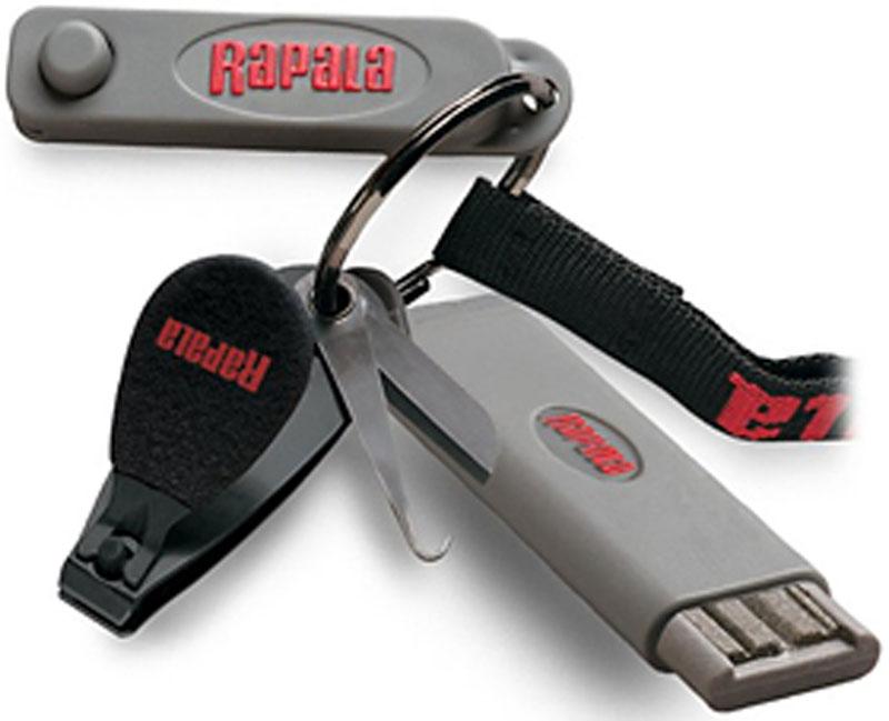 Комбо-набор Rapala: кусачки, точило для крючков