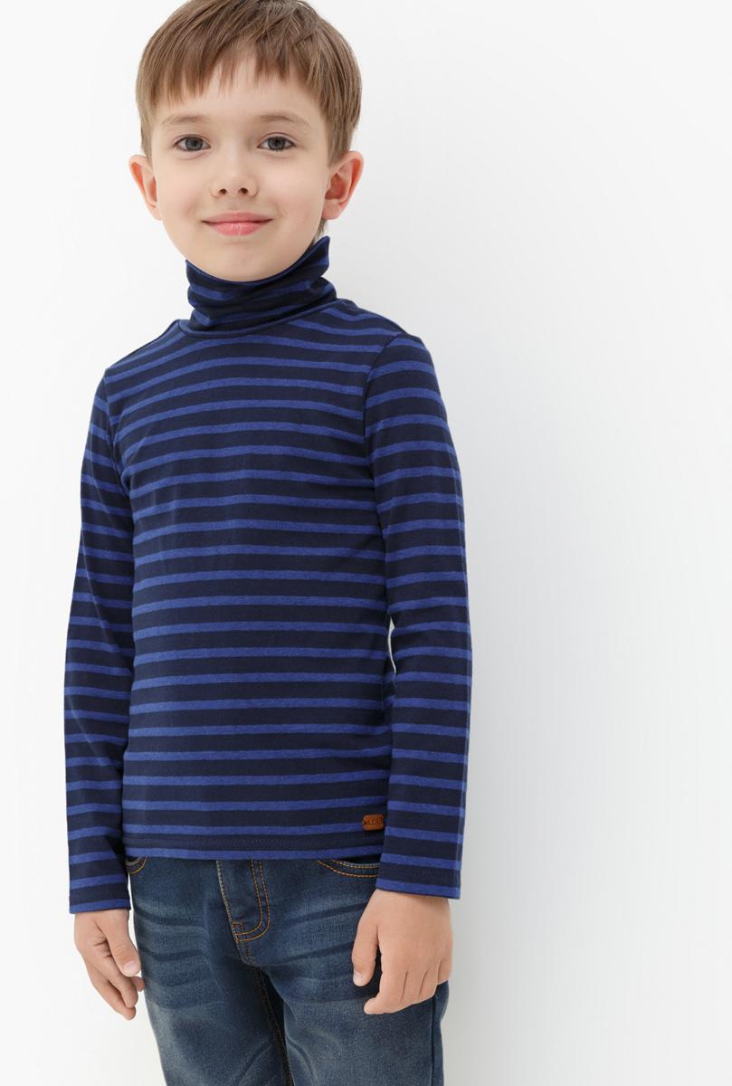 Водолазка для мальчика Acoola Nachos, цвет: темно-синий. 20120100094. Размер 110