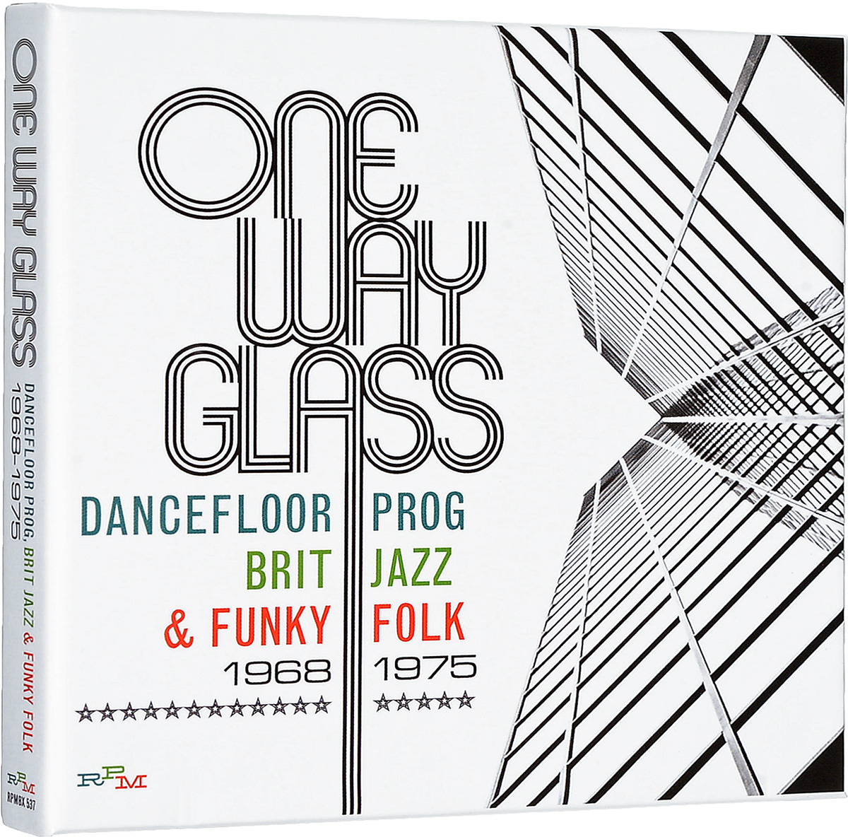 One Way Glass: Dancefloor Prog, Brit Jazz & Funky Folk 1968-1975 (3 CD) fshipping 3 gang 1 way 2pcs lot 1pc switch 1pc remote control champagne color wall switch glass touch hot sales tempering glass