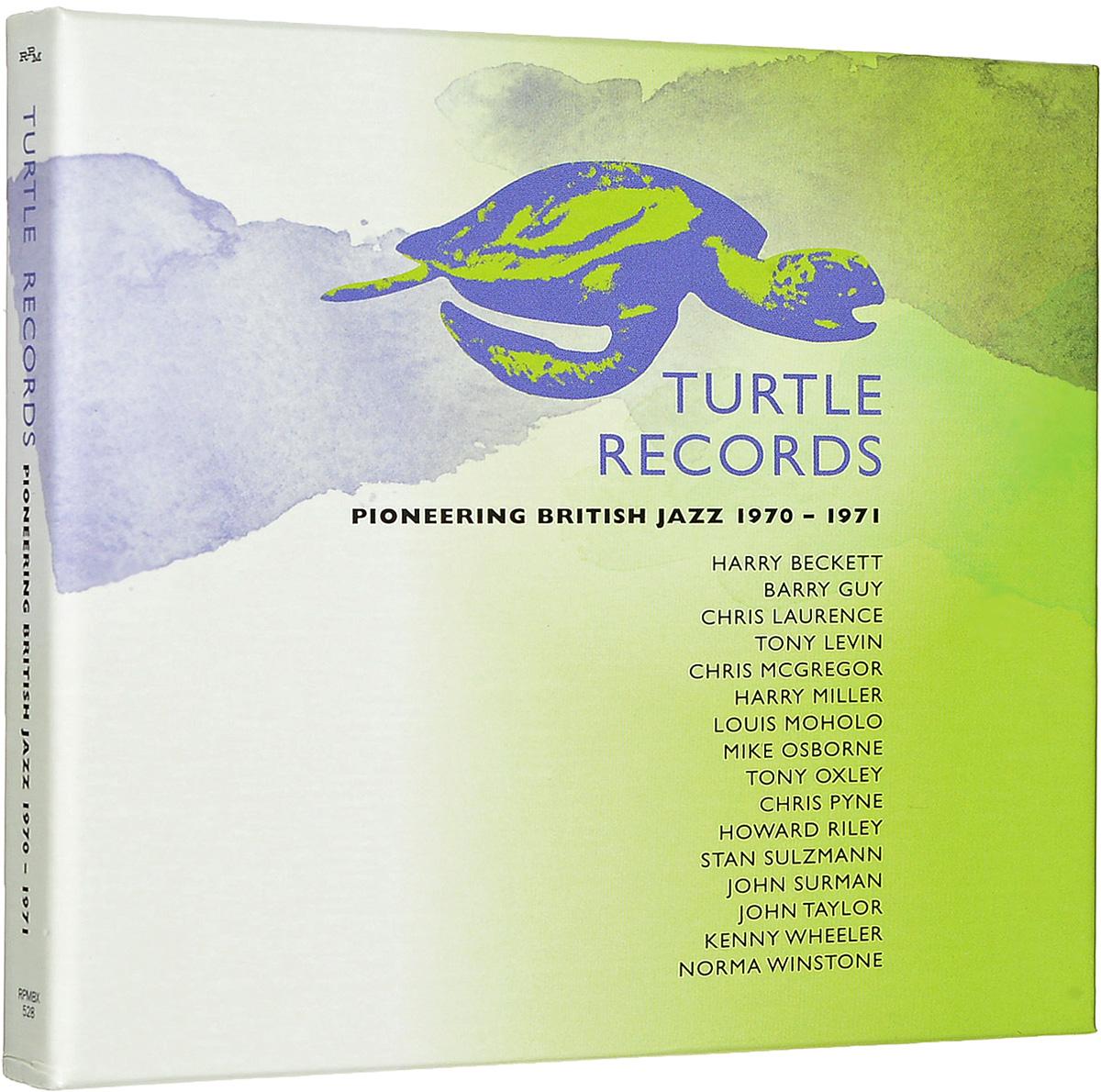 Turtle Records: Pioneering British Jazz 1970-1971 (3 CD)