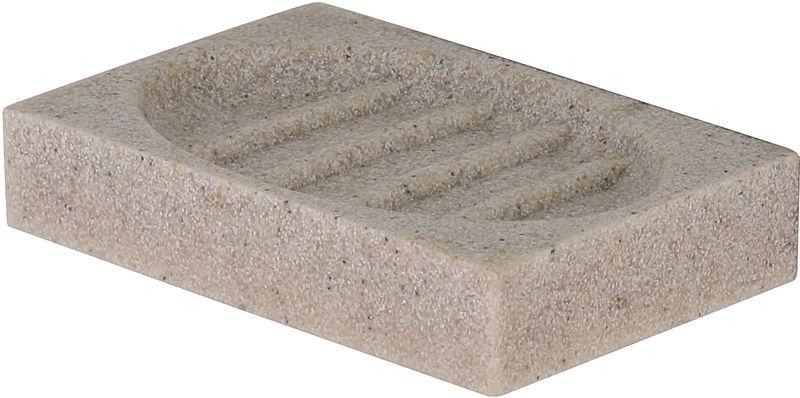Мыльница Axentia Venedig126694Мыльница Axentia Venedig - незаменимый аксессуар для ванной комнаты. Изделие изготовлено из полирезина и выполнено воригинальном дизайне. Полирезин - безопасный современный и прочный полимерный материал, из которого производят прочные и долговечные изделия домашнего обихода. Прямоугольная форма и оптимальный размер позволяет размещать большинство из существующих кусковых форм мыла. Размеры: 13 x 9,5 x 2,5 см.