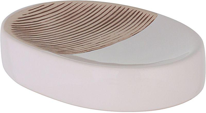 Мыльница Axentia Rimini126713Мыльница Axentia Rimini- незаменимый аксессуар для ванной комнаты. Изделие изготовлено из керамики высокого качества и выполнено воригинальном дизайне. Мыльница используется в ванной комнате для хранения и использования кускового мыла различных форм. Размеры: 13 x 9,5 x 3 см.