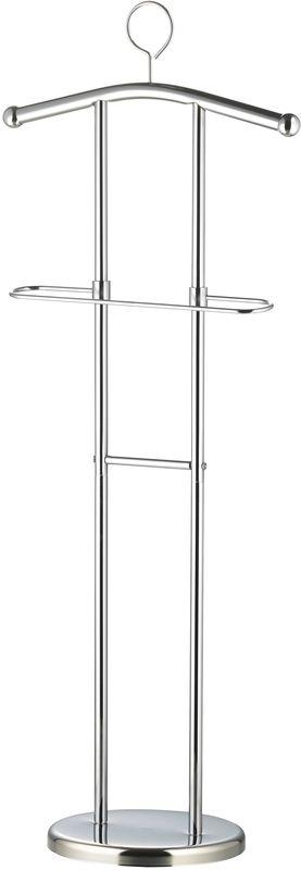 Плечики напольные Axentia Amalita282180Плечики напольные Axentia AMALITA; материал: хромированная сталь; покрытие/цвет: серебрянный; размер товара: высота 120 см.