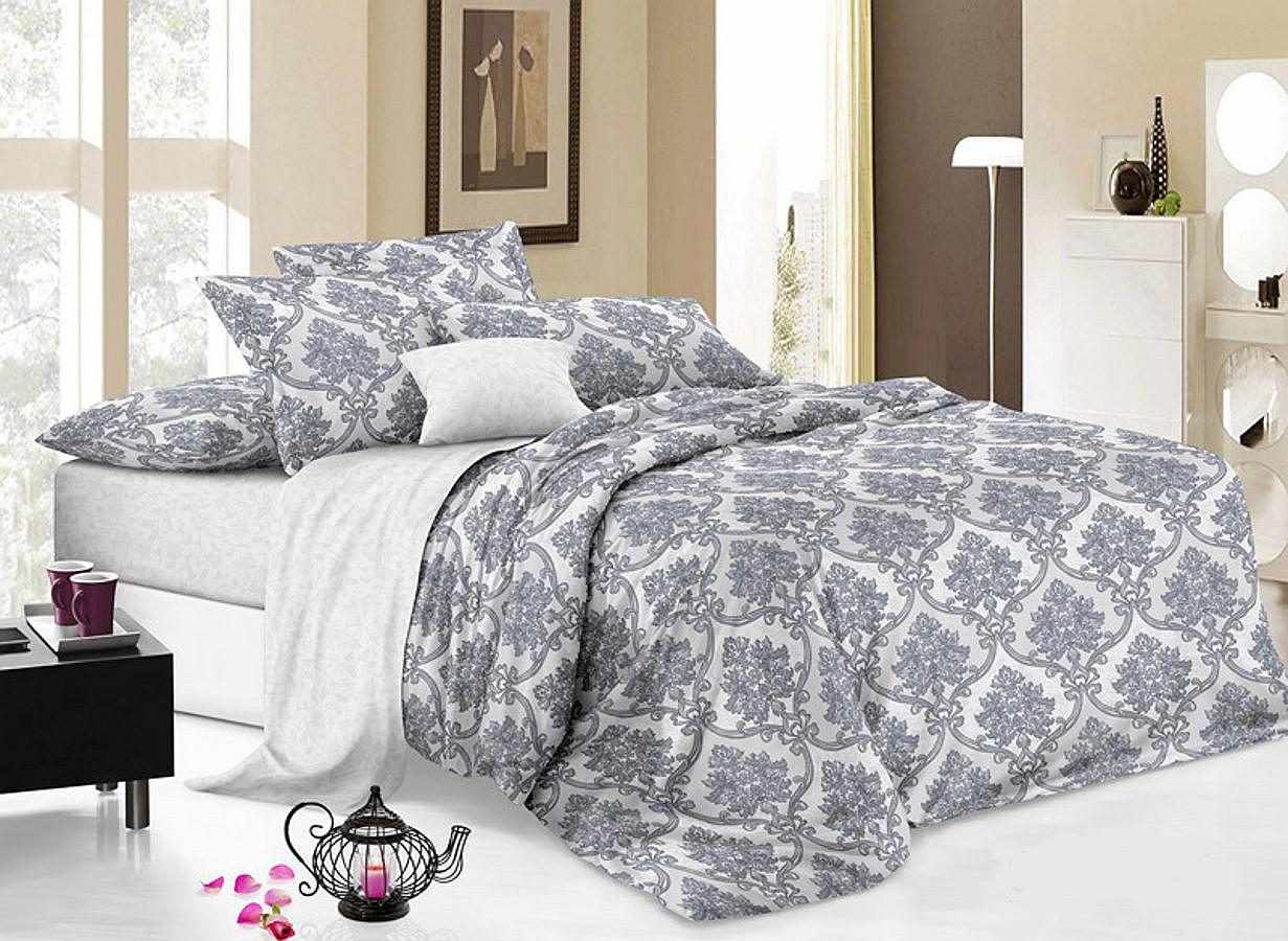 Комплект белья Cleo Реверанс, 2-спальный, наволочки 70х70 комплекты постельного белья cleo постельное белье hunter 2 спал