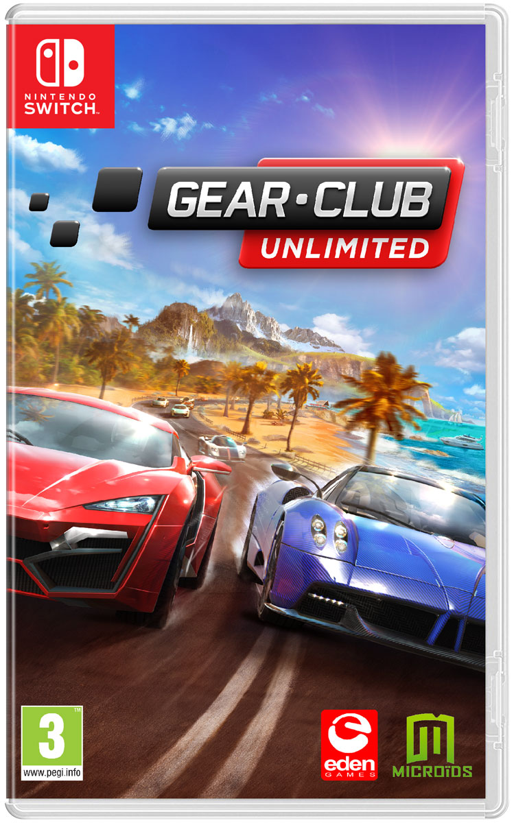 Zakazat.ru: Gear.Club: Unlimited (Nintendo Switch)