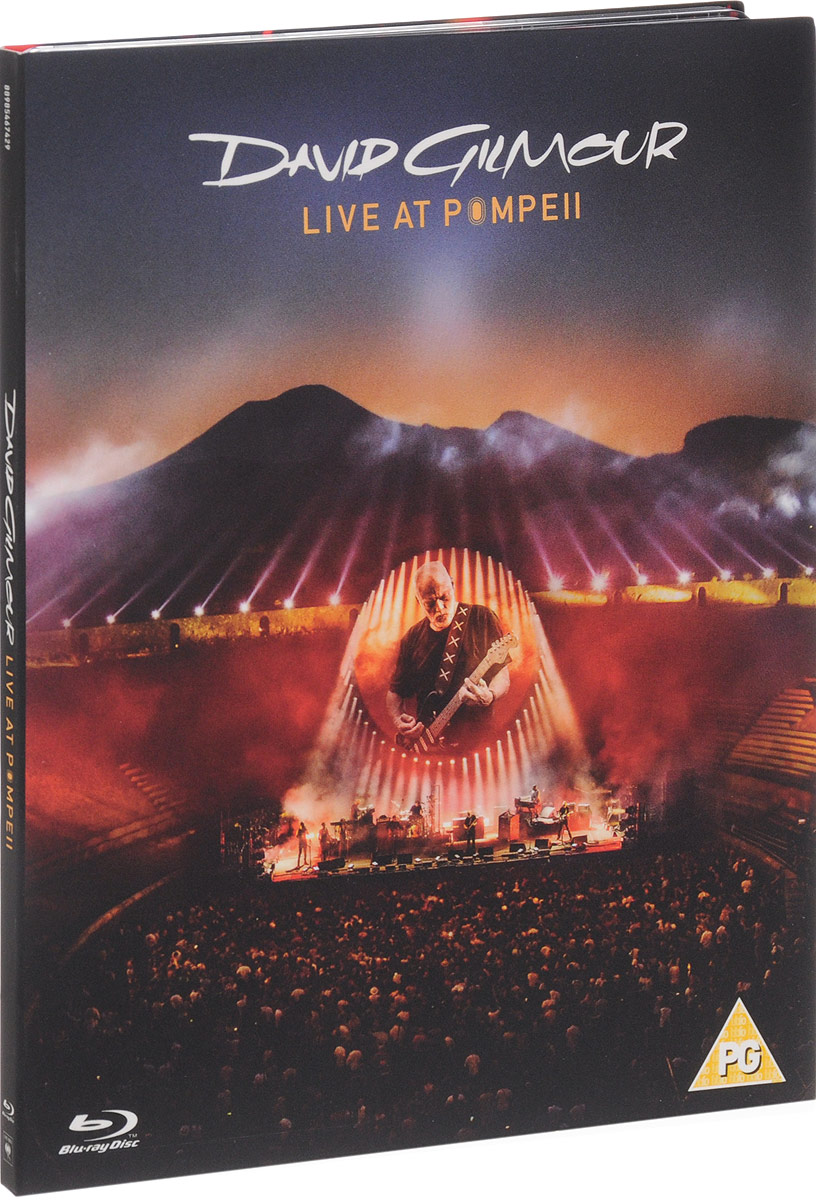 David Gilmour. Live At Pompeii (Blu-ray) david gilmour – live at pompeii blu ray