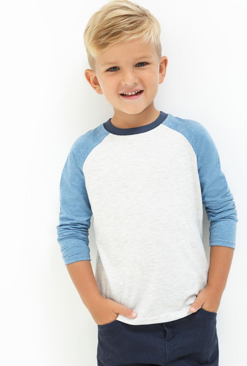 Лонгслив для мальчика Acoola Birier, цвет: мультиколор. 20120100109. Размер 10420120100109Лонгслив для мальчика Acoola выполнен из натурального хлопка. Модель с круглым вырезом горловины и длинными рукавами.
