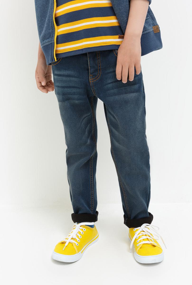 Брюки для мальчика Acoola Pacific, цвет: темно-синий. 20120160119. Размер 11020120160119Стильные брюки для мальчика Acoola идеально подойдут вашему моднику. Изделие выполнено из качественного материала. Модель застегивается на комбинированную застежку. На поясе предусмотрены шлевки для ремня. Такие брюки займут достойное место в гардеробе вашего ребенка.