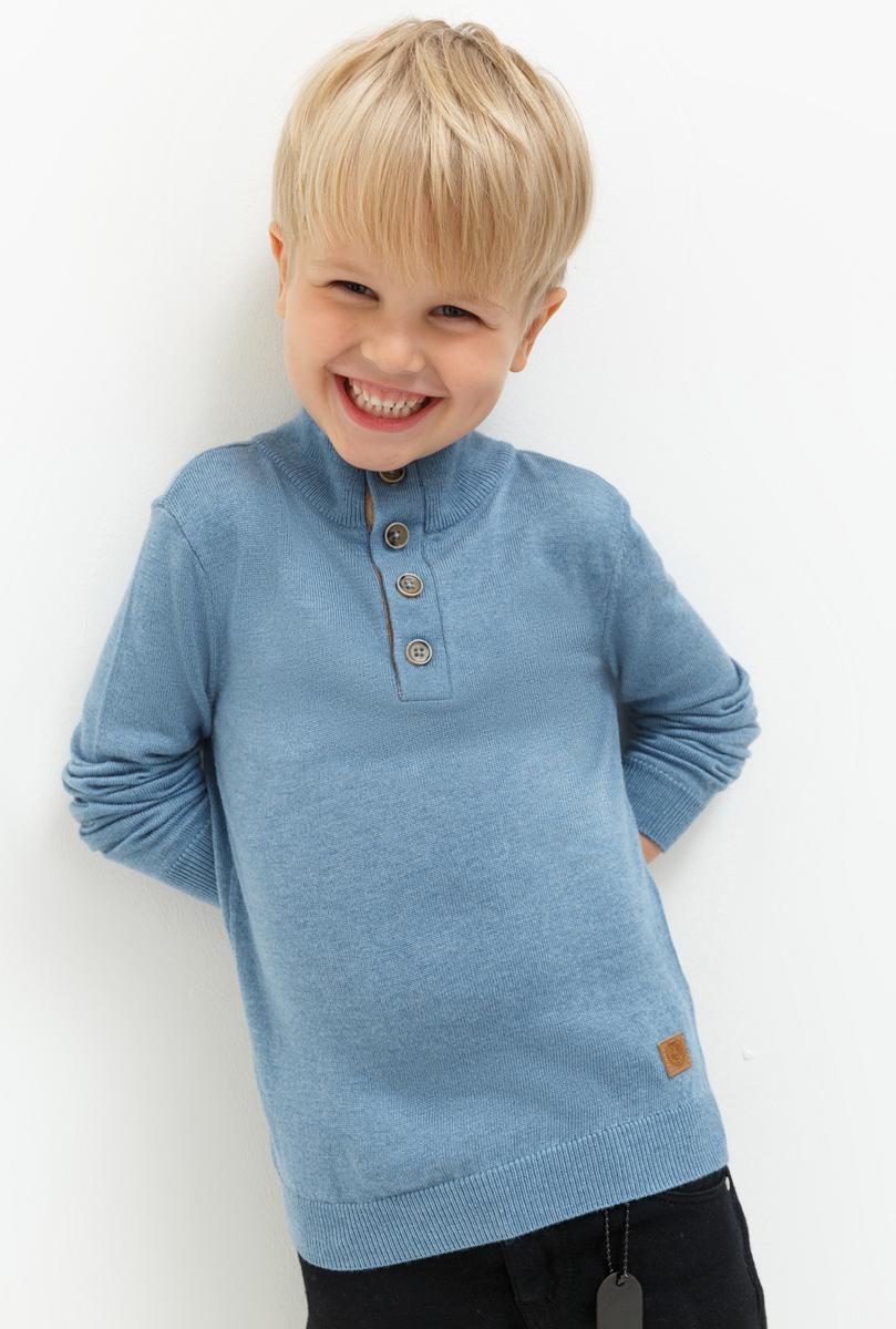 Джемпер для мальчика Acoola Ferrari, цвет: синий. 20120310045. Размер 10420120310045Джемпер для мальчика Acoola выполнен из качественного материала. Модель с длинными рукавами и воротником стойкой.