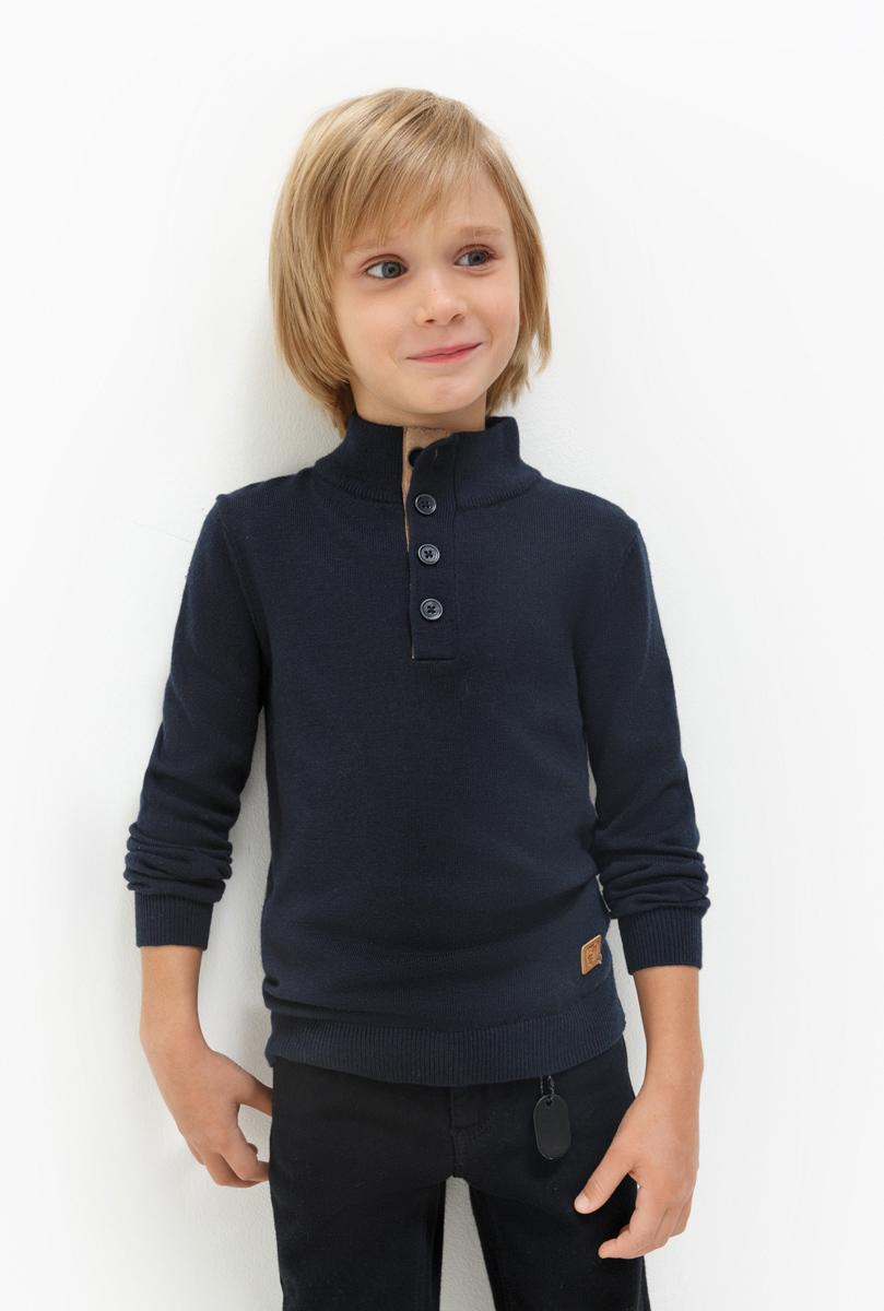 Джемпер для мальчика Acoola Ferrari, цвет: темно-синий. 20120310045. Размер 12820120310045Джемпер для мальчика Acoola выполнен из качественного материала. Модель с длинными рукавами и воротником стойкой.