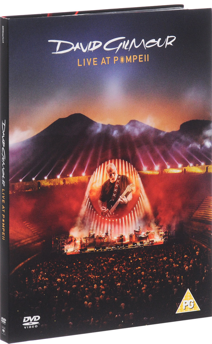 David Gilmour. Live At Pompeii (2 DVD) dvd диск igor moisseiev ballet live in paris 1 dvd