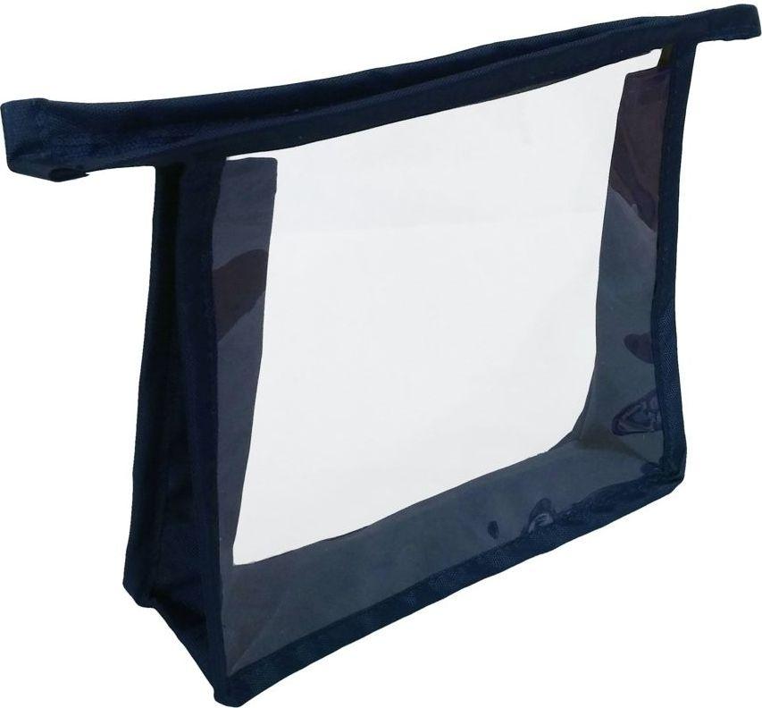 Косметичка Cross Case, цвет: синий, прозрачный, CC-2003CC-2003 BlueВлагозащищенная косметичка Cross Case, с петлёй для подвеса и прозрачными окошками, -идеальный аксессуар для переноски различных средств гигиены, лекарств, парфюмерии икосметики. Может использоваться как несессер для душа, бассейна, SPA-процедур.Соответствует требованиям большинства авиакомпаний для перевозки жидкостей в ручнойклади.Состав материала: 50% нейлон, 50% ПВХ.