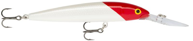 Воблер Rapala. DHJ12-RHDHJ12-RHDown Deep Husky Jerk – глубоко ныряющая версия Husky Jerk, способная достигнуть глубины 6 м.