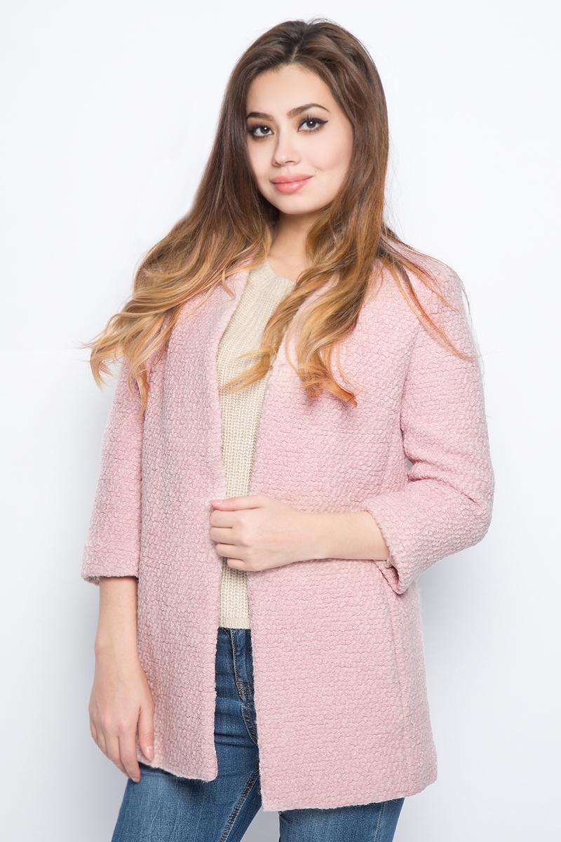 Жакет женский Baon, цвет: розовый. B127510_Lotus. Размер M (46)