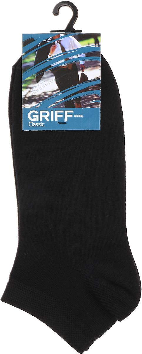Носки мужские Griff, цвет: черный. B36. Размер 45/47 нутромер гост 86882 griff ни 250450 d128031