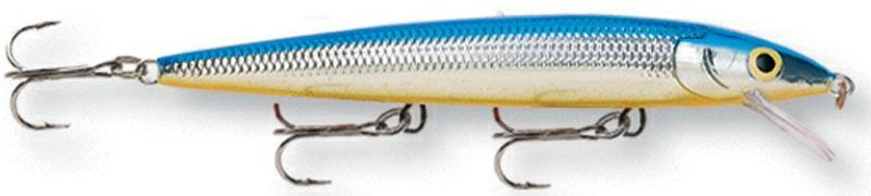 Воблер Rapala, мелко погружающийся, длина 12 см, вес 13 г. HJ12-SB