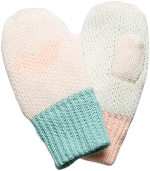 Варежки для девочки Acoola Amore, цвет: мультиколор. 20216430002. Размер L (18)20216430002Детские варежки - незаменимая модель для холодной погоды. Их основная функция - защита от холода и ветра. Модель выполнена из полиамида.