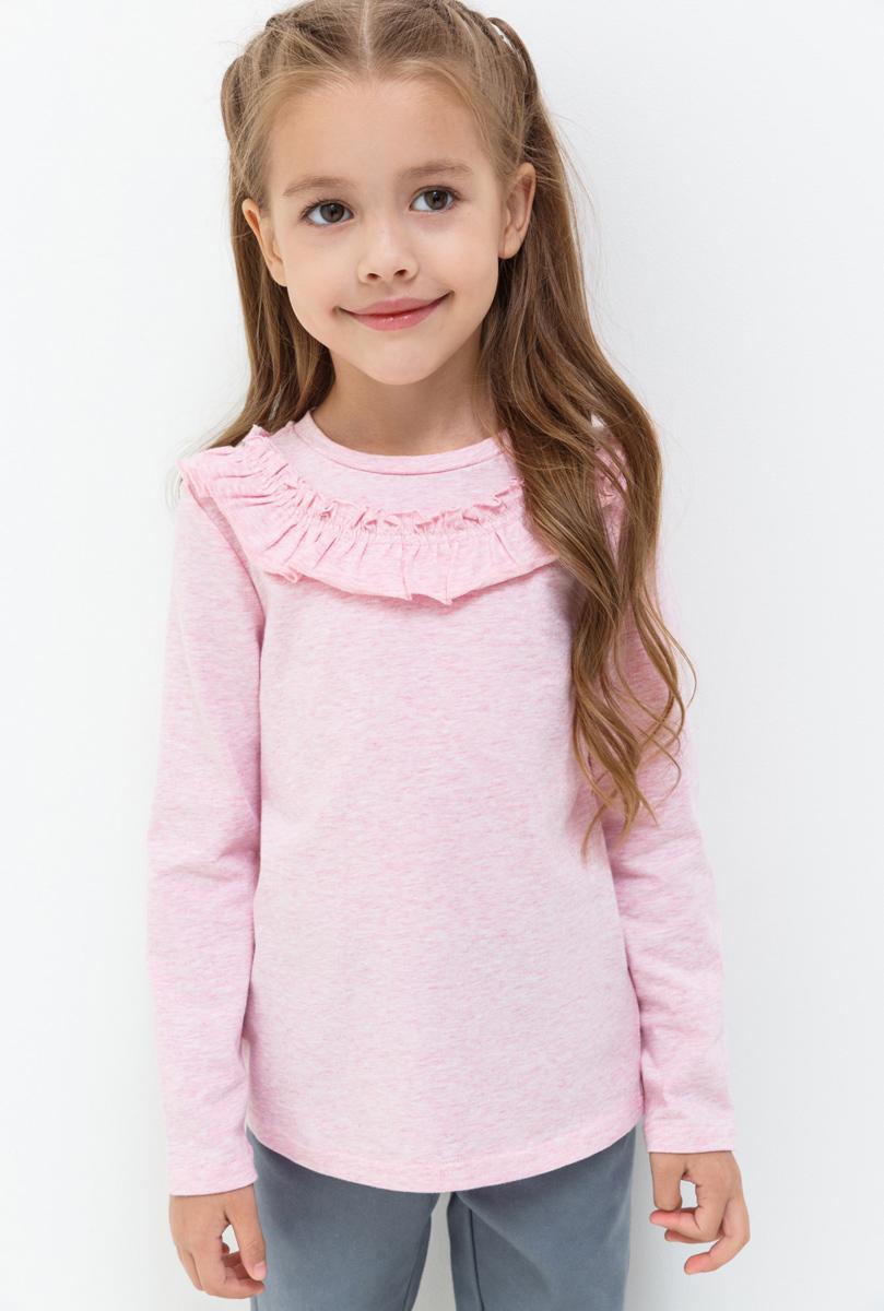 Джемпер для девочки Acoola Oriflame, цвет: светло-розовый. 20220100125. Размер 11020220100125Джемпер для девочки Acoola выполнен из качественного материала. Модель с круглым вырезом горловины и длинными рукавами.