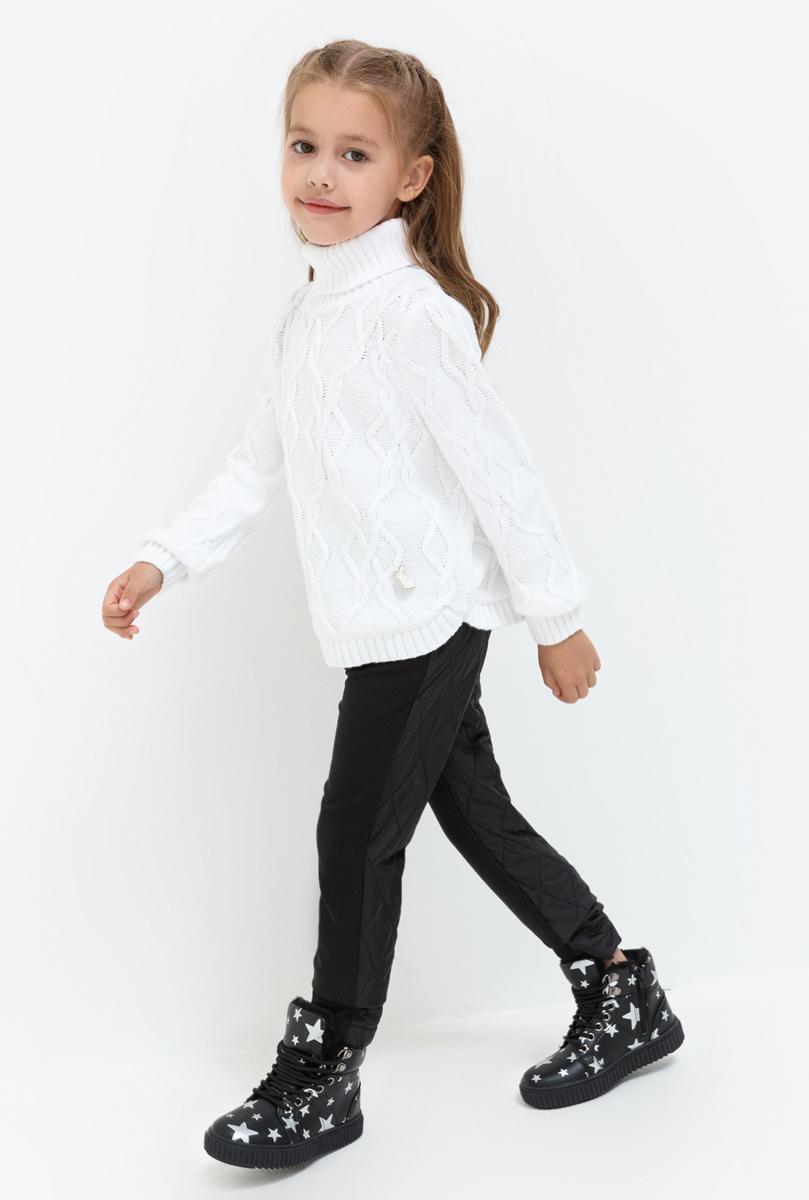 Брюки для девочки Acoola Vela, цвет: черный. 20220160128. Размер 11620220160128