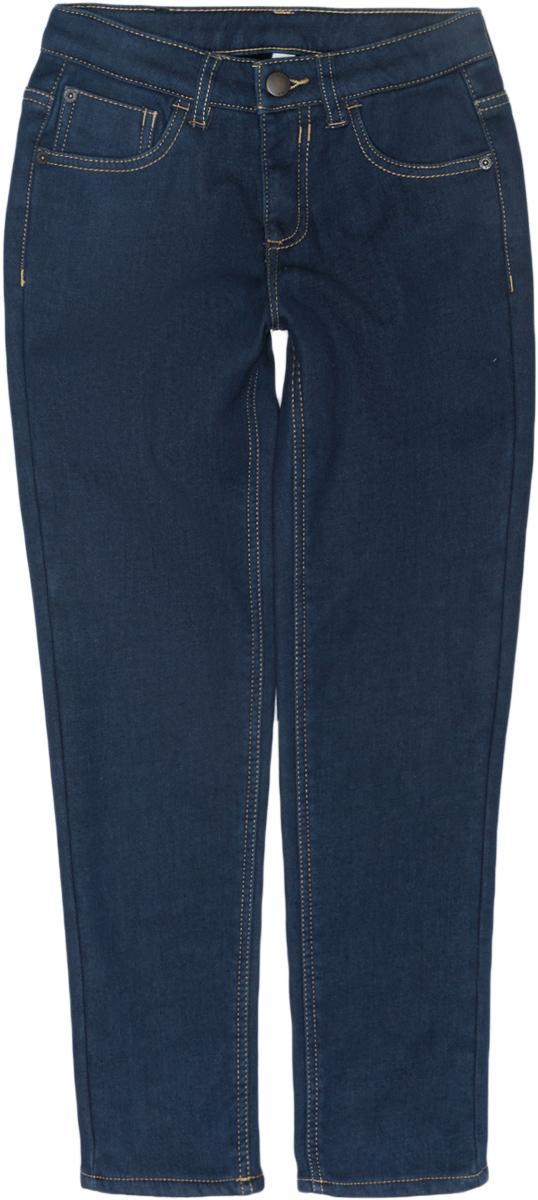 Брюки для девочки Acoola Candle, цвет: глубокий синий. 20220160131. Размер 11620220160131Стильные брюки для девочки Acoola идеально подойдут вашей маленькой моднице. Изделие выполнено из качественного материала. Модель застегивается на комбинированную застежку. На поясе предусмотрены шлевки для ремня.Такие брюки займут достойное место в гардеробе вашего ребенка.