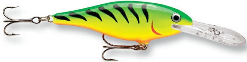 Воблер Rapala, плавающий, длина 7 см, вес 8 г. SR07-FT воблер rapala scatter rap minnow scrm p плавающий 1 8 2 7м 11см 6гр