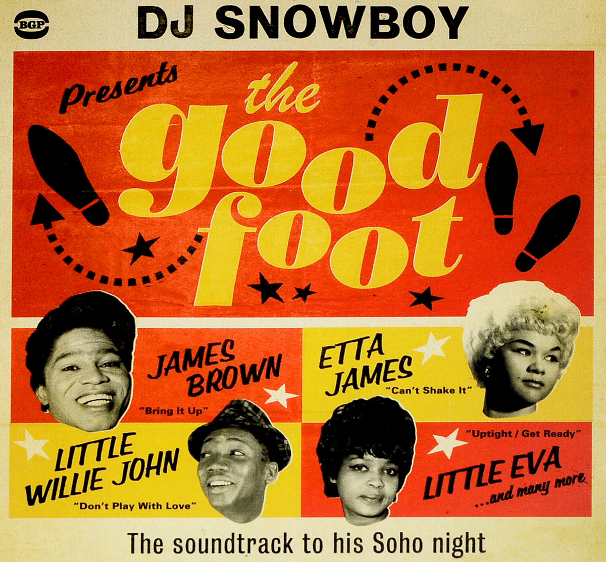 Zakazat.ru Dj Snowboy Presents The Good Foot. The Soundtrack To His Soho Night