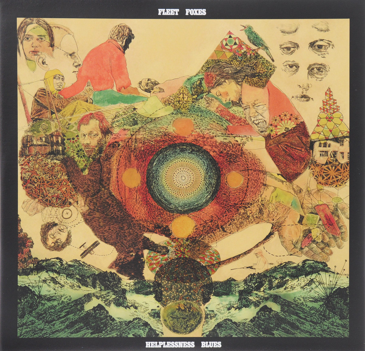 Fleet Foxes Fleet Foxes. Helplessness Blues (2 LP) greta van fleet calgary