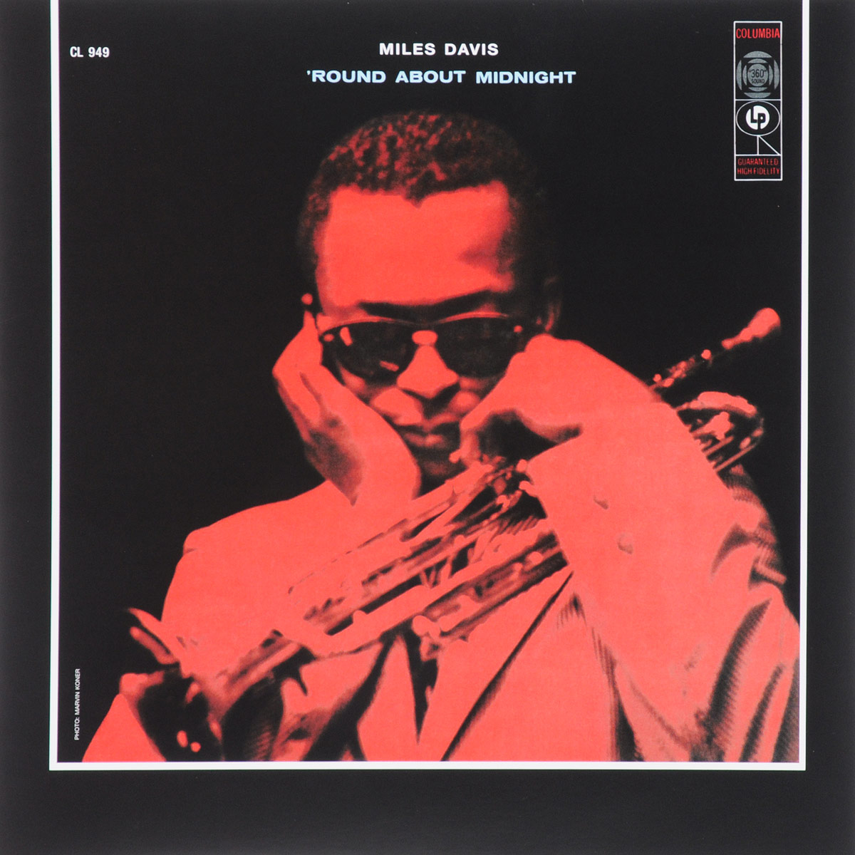 Майлз Дэвис Miles Davis. 'Round About Midnight (LP)
