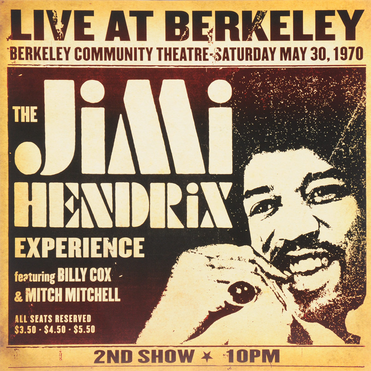 Джими Хендрикс Jimi Hendrix. Live At Berkeley (Experience) (2 LP) джими хендрикс jimi hendrix the cry of love lp