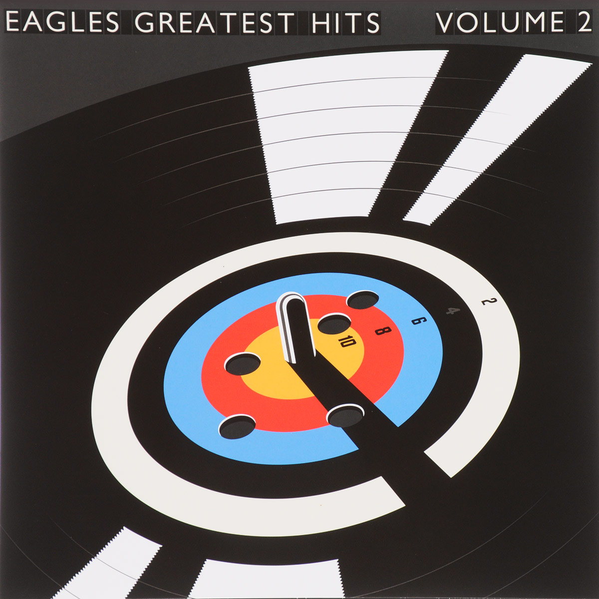 The Eagles Eagles. Their Greatest Hits Volumes 1 & 2 (2 LP) cd eagles the complete greatest hits
