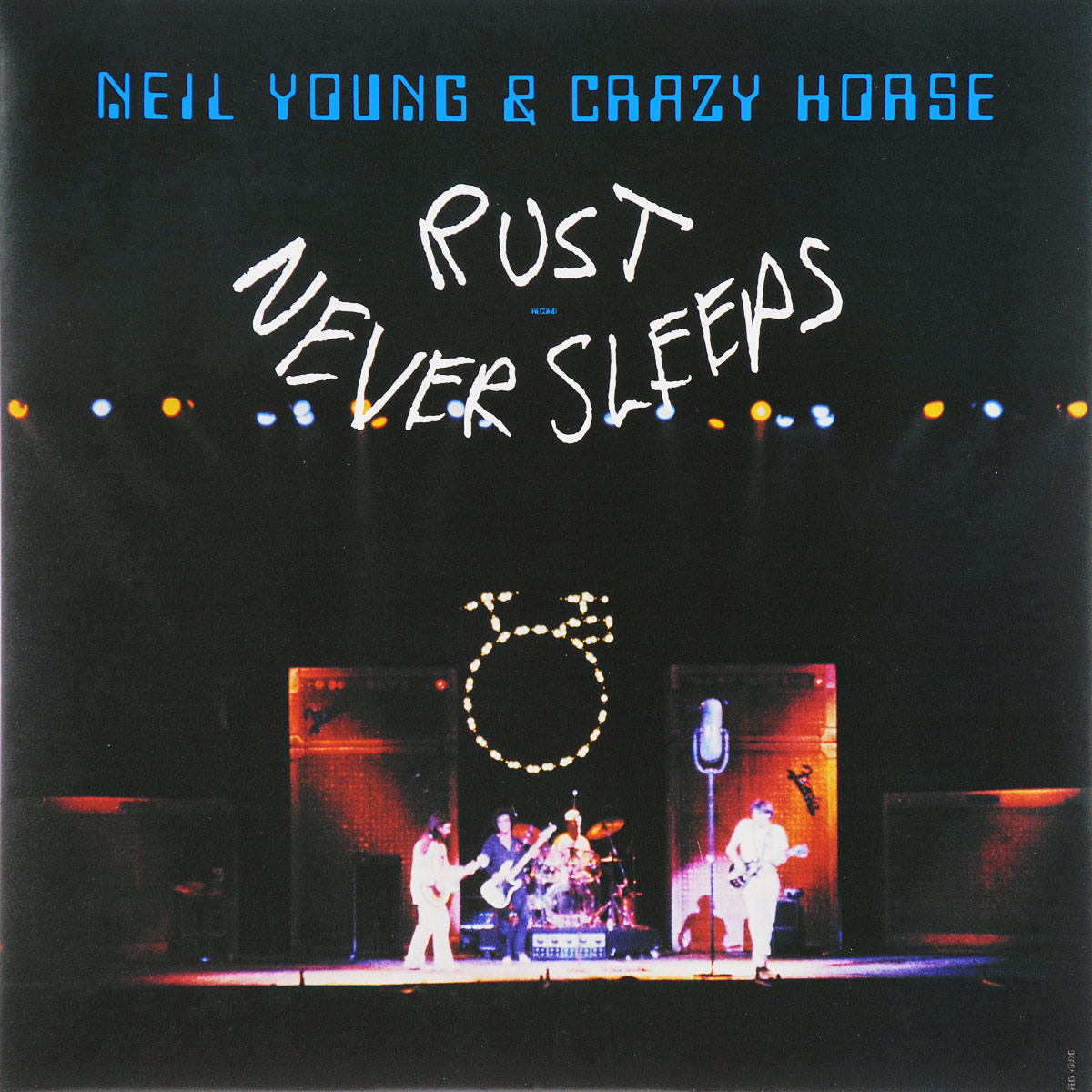Нил Янг Neil Young, Crazy Horse. Rust Never Sleeps (LP) cd neil young