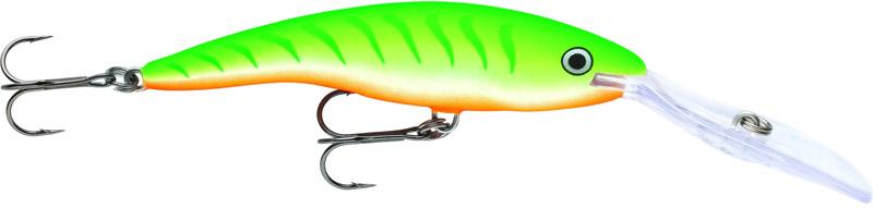 Воблер Rapala, длина 11 см, вес 22 г. TDD11-GTU воблер rapala scatter rap shad deep dscrs alb плавающий 2 7м 3 6м 7см 7гр