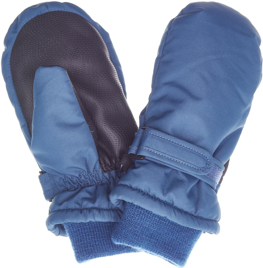 Варежки детские Button Blue, цвет: серый. 217BBUA76012000. Размер 12217BBUA76012000Подбирая зимний функциональный гардероб для ребенка, не забудьте купить варежки из плащевки, ведь они - незаменимая вещь для прогулок в морозные дни! Непромокаемая плащевка, утяжка от продувания, протектор для прочности и износостойкости изделия позволят гулять в любую погоду, гарантируя тепло, уют и комфорт.