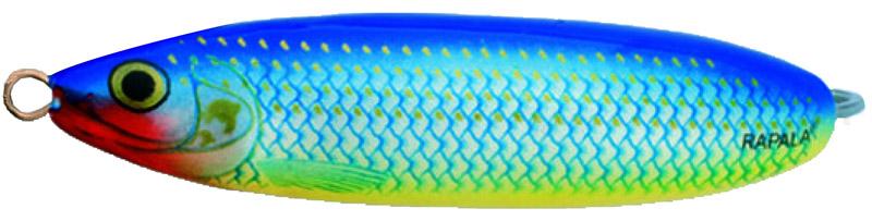 Блесна Rapala, незацепляйка, длина 6 см, вес 10 г. RMS06-BSH72544Великолепная приманка с привлекательной и стабильной игрой не только при разных скоростях проводки, но и на паузе, когда приманка тонет, она соблазнительно покачивается, гипнотизируя любого хищника. Эффективная защита крючка от зацепов позволяет рыбачить с ней даже в очень сильно заросших водоемах, как в пресной, так и соленой воде.Какая приманка для спиннинга лучше. Статья OZON Гид