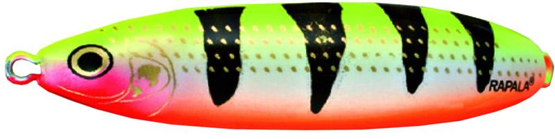 Блесна Rapala, незацепляйка, длина 6 см, вес 10 г. RMS06-YOTRMS06-SHВеликолепная приманка с привлекательной и стабильной игрой не только при разных скоростях проводки, но и на паузе, когда приманка тонет, она соблазнительно покачивается, гипнотизируя любого хищника. Эффективная защита крючка от зацепов позволяет рыбачить с ней даже в очень сильно заросших водоемах, как в пресной, так и соленой воде.Какая приманка для спиннинга лучше. Статья OZON Гид