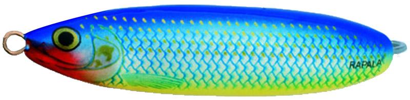 Блесна-незацепляйка Rapala. RMS07-BSHRMS07-BSHВеликолепная приманка с привлекательной и стабильной игрой не только при разных скоростях проводки, но и на паузе, когда приманка тонет, она соблазнительно покачивается, гипнотизируя любого хищника. Эффективная защита крючка от зацепов позволяет рыбачить с ней даже в очень сильно заросших водоемах, как в пресной, так и соленой воде.Какая приманка для спиннинга лучше. Статья OZON Гид