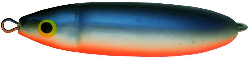 Блесна-незацепляйка Rapala. RMS08-SDRMS08-SDВеликолепная приманка с привлекательной и стабильной игрой не только при разных скоростях проводки, но и на паузе, когда приманка тонет, она соблазнительно покачивается, гипнотизируя любого хищника. Эффективная защитакрючка от зацепов позволяет рыбачить с ней даже в очень сильно заросших водоемах, как в пресной, так и соленой воде.