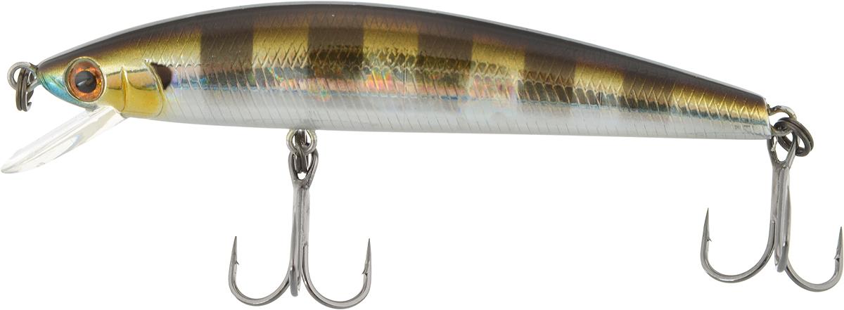 Воблер Tsuribito Minnow F, цвет 007, 80 мм24577Minnow 80SP - отличный воблер для ловли на небольших глубинах и над зарослями травы, где часто охотится щука и другие хищники. Благодаря системе дальнего заброса с магнитом воблер очень хорошо летит при забросе, и устойчиво играет даже при проводке с рывками. Мощные тройники надёжно засекают рыбу при поклёвке. Все эти качества вместе с реалистичной игрой делают этот воблер отличным орудием для ловли крупного хищника.