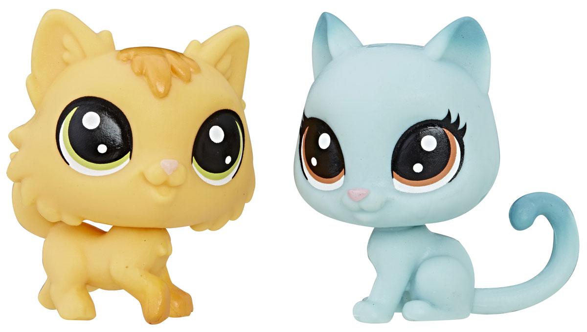Littlest Pet Shop Набор фигурок Fluffy Catson & Kitty Von Grey-Cat рюкзаки littlest pet shop рюкзак littlest pet shop