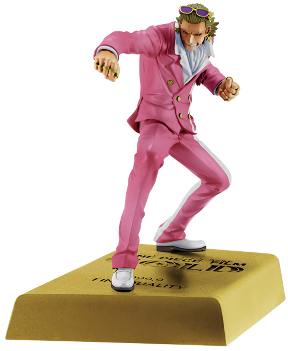 Bandai Фигурка O.P. Dxf Manhood Monkey G Tesoro 15 см фигурка one piece dxf manhood 2 gild tesoro 15 см