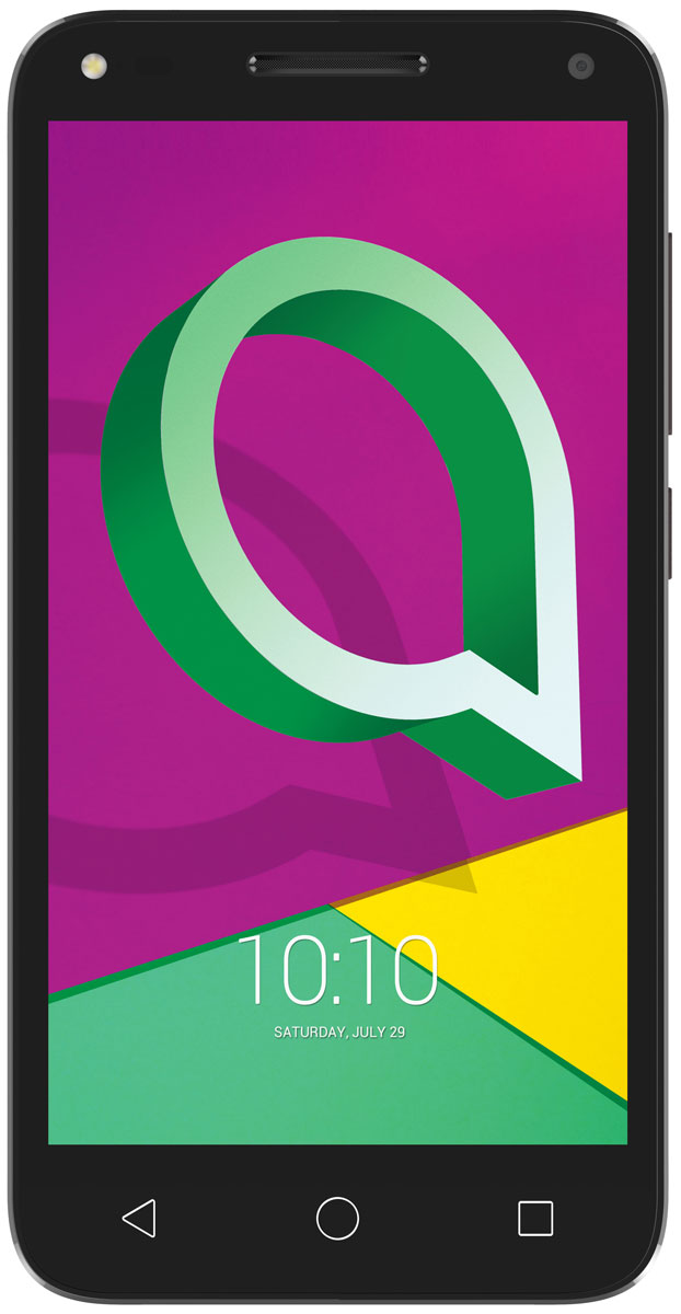 Alcatel OT-4047D U5, Black Brown - Смартфоны