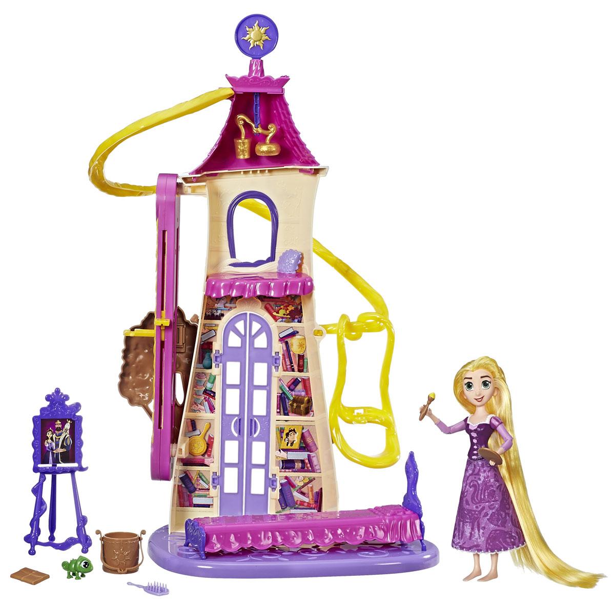 Disney Princess Игровой набор с куклой Замок Рапунцель disney princess игровой набор мерида и пони