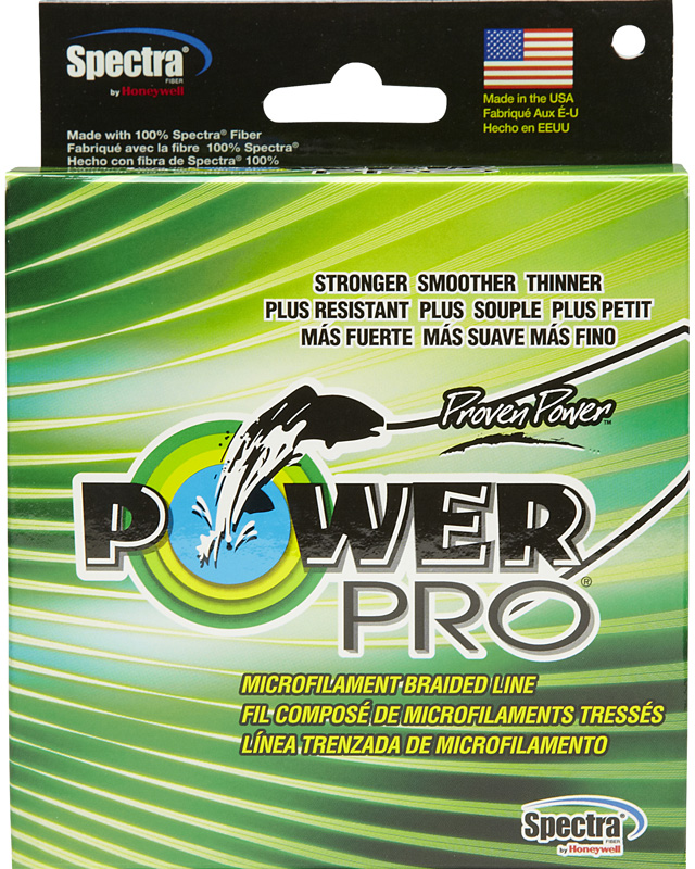 Леска плетеная Power Pro, цвет: желтый, 135 м, 0,23 мм,15 кг acecamp 9052 outdoor camping multi purpose utility cord rope army green 20m