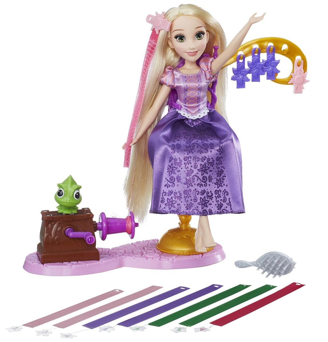 Disney Princess Игровой набор с куклой Королевский салон Рапунцель disney princess игровой набор с куклой easy styles ариэль