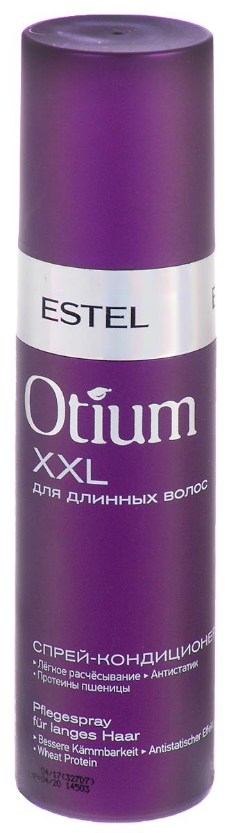 Estel Otium XXL Спрей-кондиционер для длинных волос 200 млOTM.12Cпрей-кондиционер для волос от Estel Otium Flow. Гладкость и блеск представляет собой нежную эмульсию с лёгкой текстурой, оживляющей усталые ломкие волосы и оказывающей эффективный кондиционирующий уход.Комплекс Flow Revivаl с протеинами пшеницы придаёт волосам ощущение роскошной мягкости, разглаживает их и максимально усиливает блеск. Защищает волосы от механических повреждений и неблагоприятного воздействия внешней среды. Подходит для ежедневного применения.Товар сертифицирован.Уважаемые клиенты! Обращаем ваше внимание на возможные изменения в дизайне упаковки. Качественные характеристики товара остаются неизменными. Поставка осуществляется в зависимости от наличия на складе.