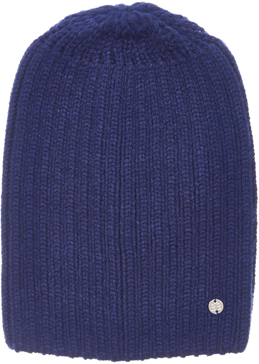Шапка для мальчика Button Blue, цвет: синий. 217BBBX73041000. Размер 54217BBBX73041000Детские вязаные шапки - важный атрибут повседневной одежды! К тому же, они отлично украшают и завершают зимний комплект. Шапка от Button Blue найдет достойное применение, став ярким акцентом или цветовой поддержкой любого комплекта. Купить теплую шапку для мальчика от Button Blue, значит, позаботиться о комфорте и хорошем настроении ребенка!