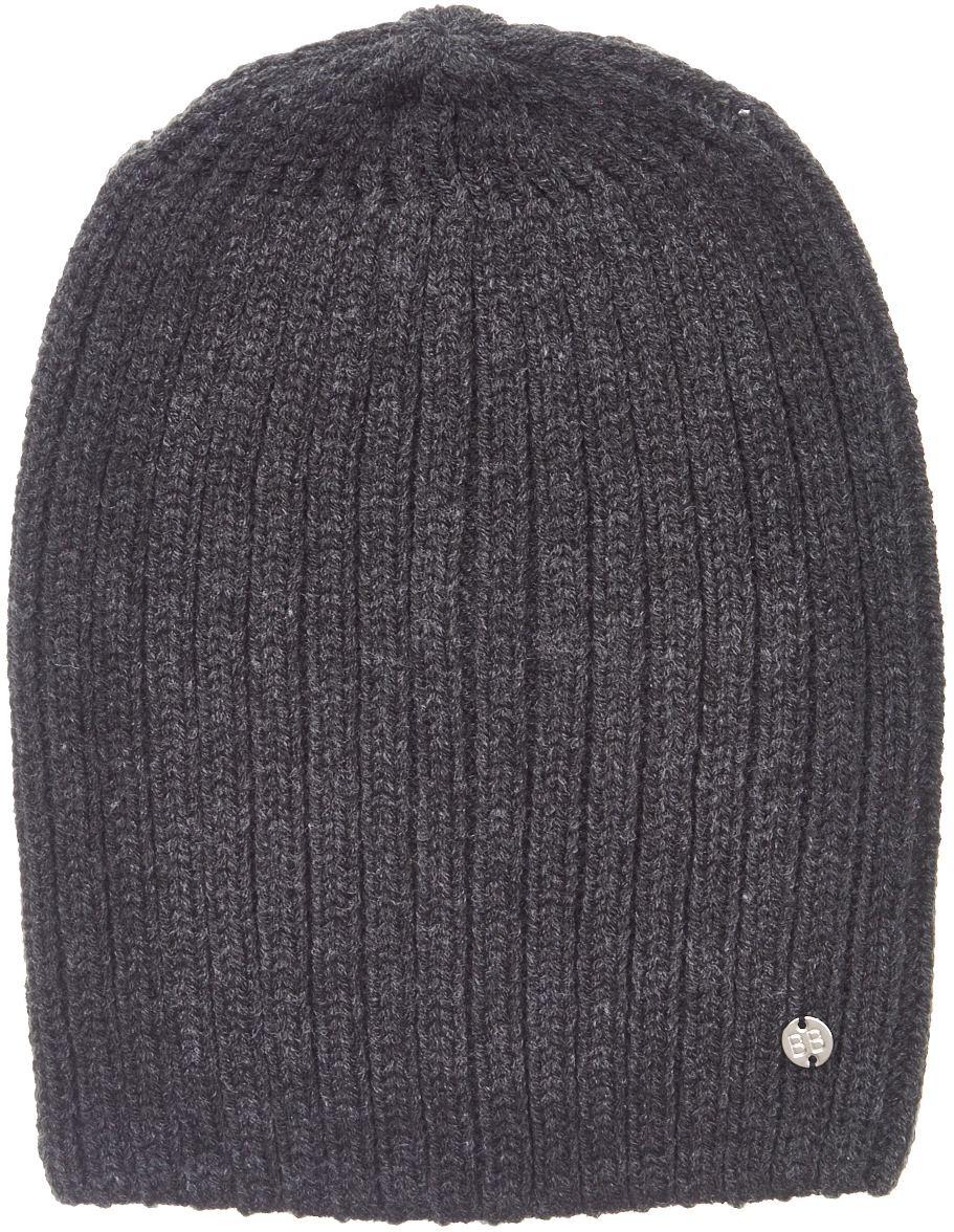 Шапка для мальчика Button Blue, цвет: темно-серый. 217BBBX73042300. Размер 52 шапка для девочки button blue цвет голубой 217bbgx73021800 размер 52