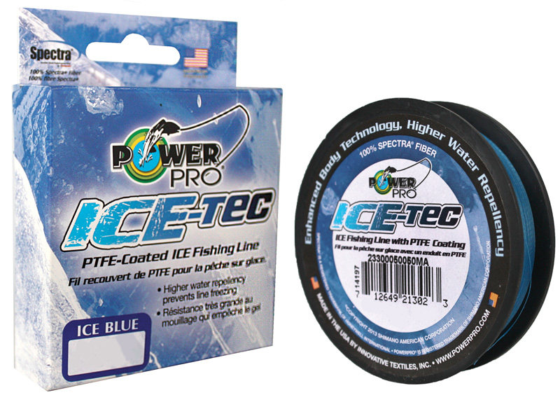 Леска плетеная Power Pro Ice-Tec, цвет: синий, 45 м, 0,10 мм, 5 кг pro tec наколенники pro tec