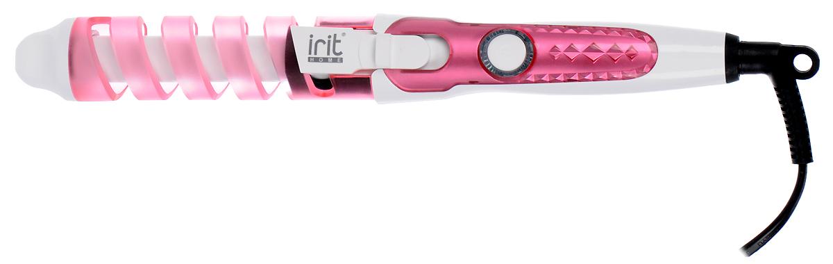 Irit IR-3127, Pink щипцы для завивки волос