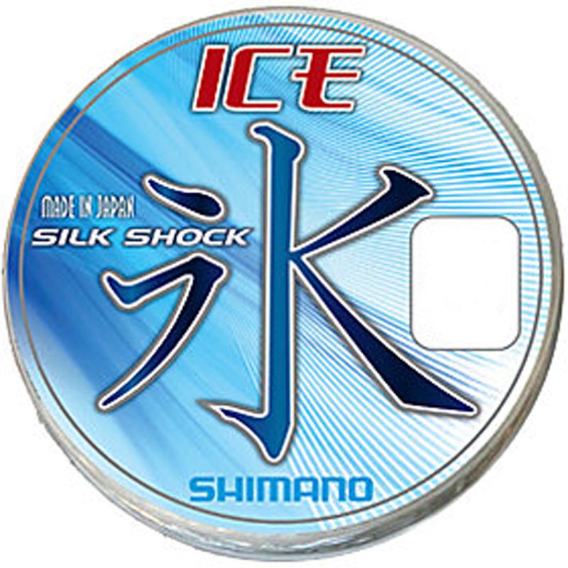 Леска Shimano Ice Silkshock, 0,06 мм, 50 м, 0,65 кг